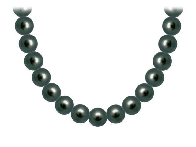 Freshwater Cultured Pearl Necklace  14K White Gold  9 MM