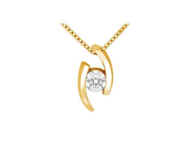 Diamond Pendant  14K Yellow Gold - 0.25 CT Diamonds