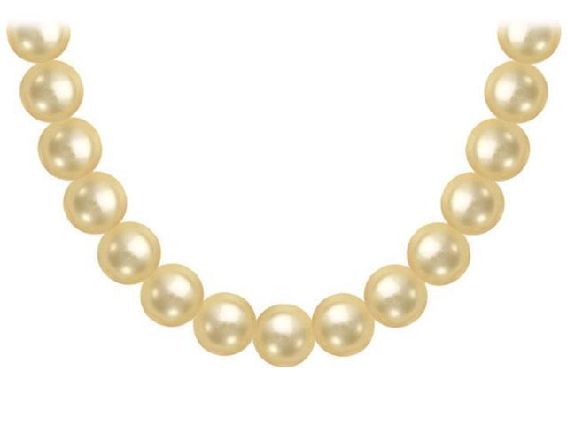 South Sea Pearl Necklace  18K White Gold  12.00 - 14.00 MM