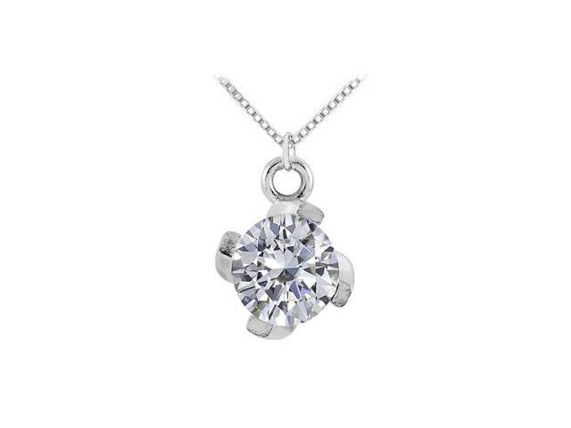 April Birthstone Cubic Zirconia in 925 Sterling Silver 1.00 CT TGW