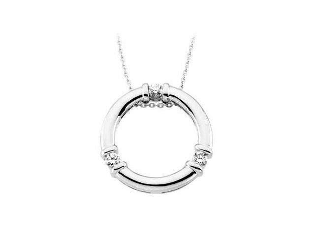 Path of Life Pendant in .925 Sterling Silver 16 Inch Chain