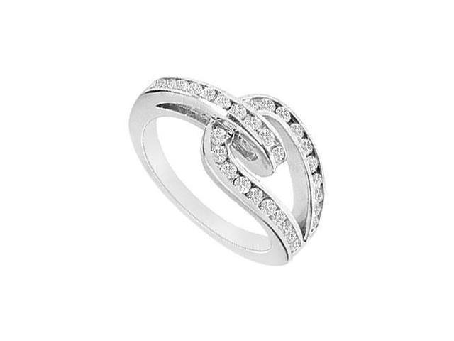 Diamond Ring  14K White Gold - 0.55 CT Diamonds