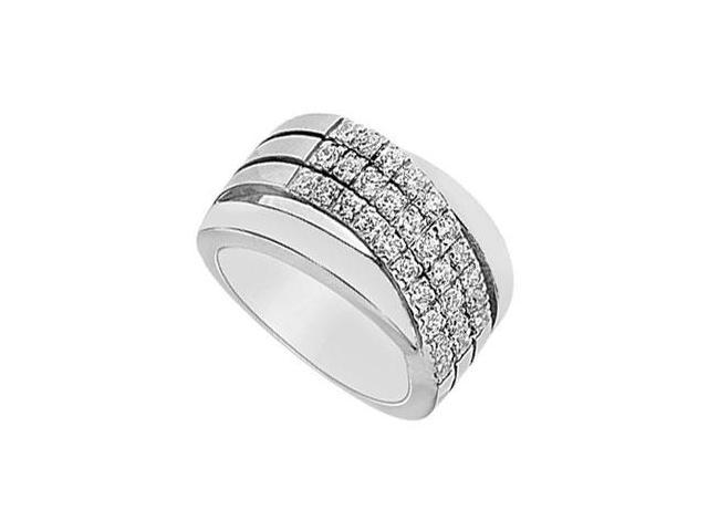 Diamond Ring  14K White Gold - 0.66 CT Diamonds