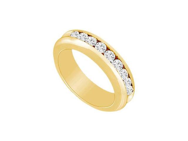Diamond Wedding Band  14K Yellow Gold - 1.00 CT Diamonds