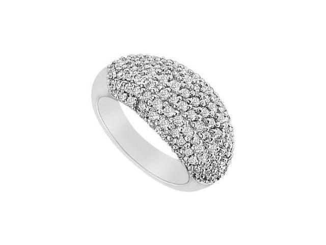 Diamond Ring  14K White Gold - 1.75 CT Diamonds