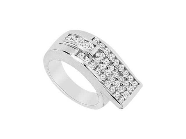 Diamond Ring  14K White Gold - 1.50 CT Diamonds