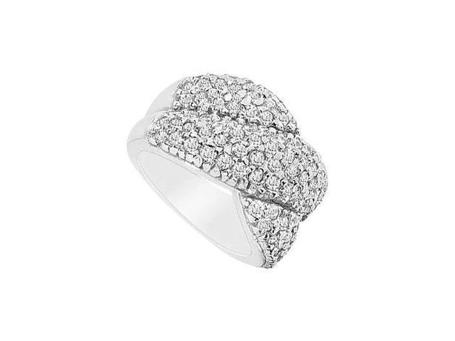 Diamond Ring  14K White Gold - 2.00 CT Diamonds