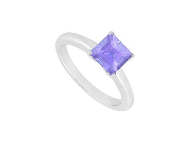 Tanzanite Ring  14K White Gold - 0.75 CT TGW