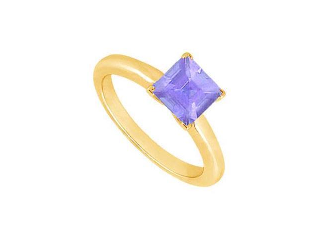 Tanzanite Ring  14K Yellow Gold - 0.75 CT TGW