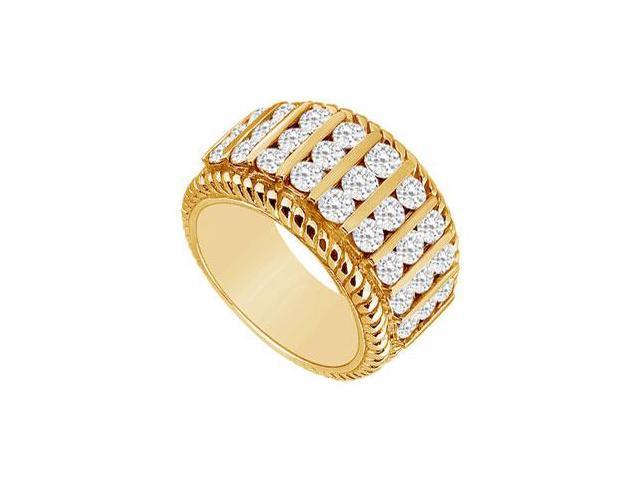 Diamond Ring  14K Yellow Gold - 1.00 CT Diamonds