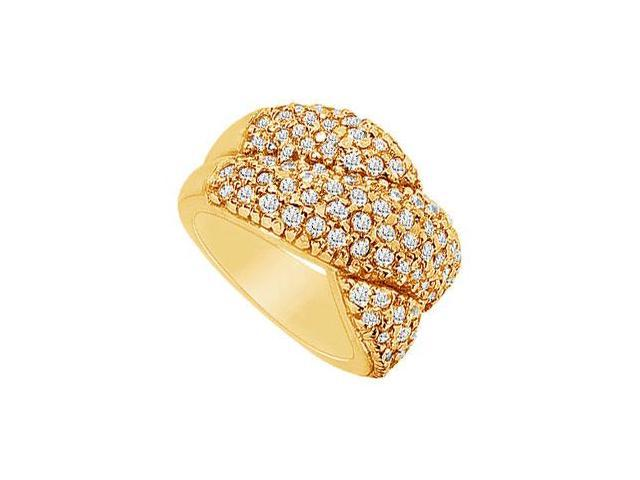 Diamond Ring  14K Yellow Gold - 2.00 CT Diamonds