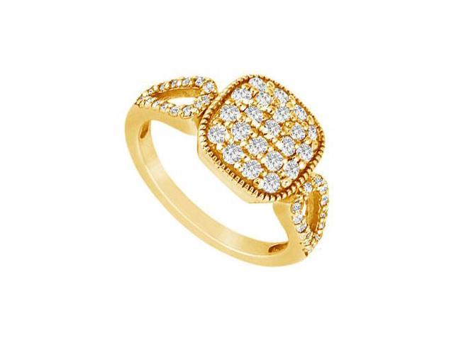 Diamond Ring  14K Yellow Gold - 0.75 CT Diamonds