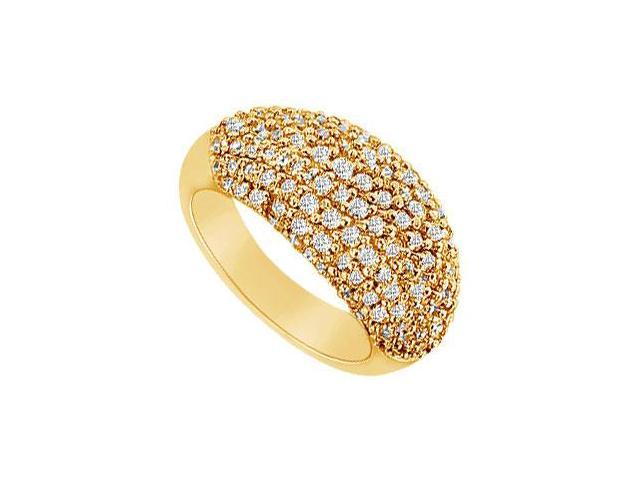 Diamond Ring  14K Yellow Gold - 1.75 CT Diamonds