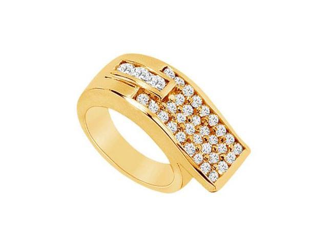 Diamond Ring  14K Yellow Gold - 1.50 CT Diamonds