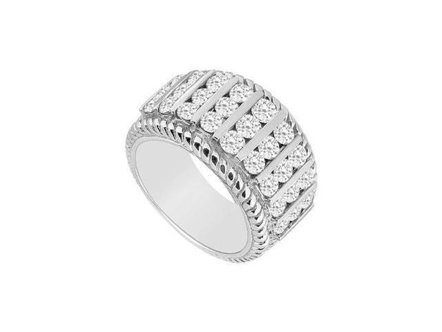 Diamond Ring  14K White Gold - 1.00 CT Diamonds