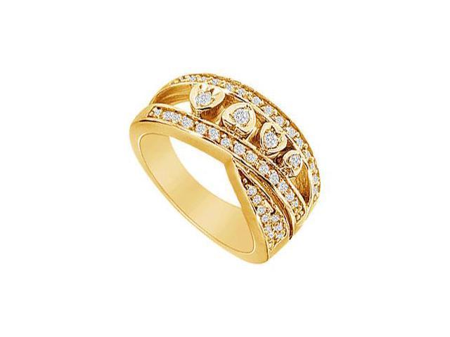Diamond Ring  14K Yellow Gold - 0.50 CT Diamonds