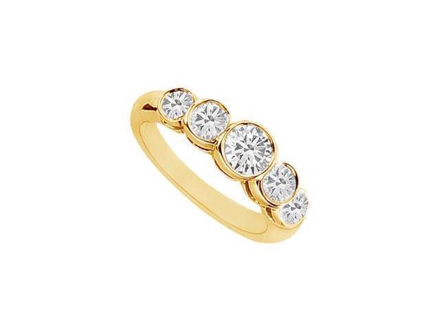Diamond Ring  14K Yellow Gold - 1.10 CT Diamonds