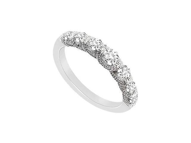 Diamond Ring  14K White Gold - 0.75 CT Diamonds