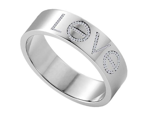 1 Carat Diamonds Love Ring in White Gold 14K