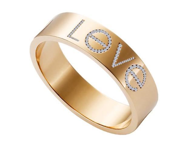 Diamond Love Fashion Ring in 14K Rose Gold with 1 Carat Diamonds