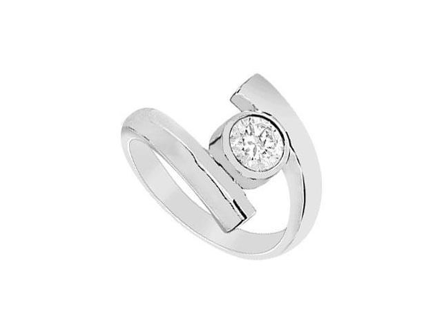 Diamond Ring  14K White Gold - 1.00 CT Diamond