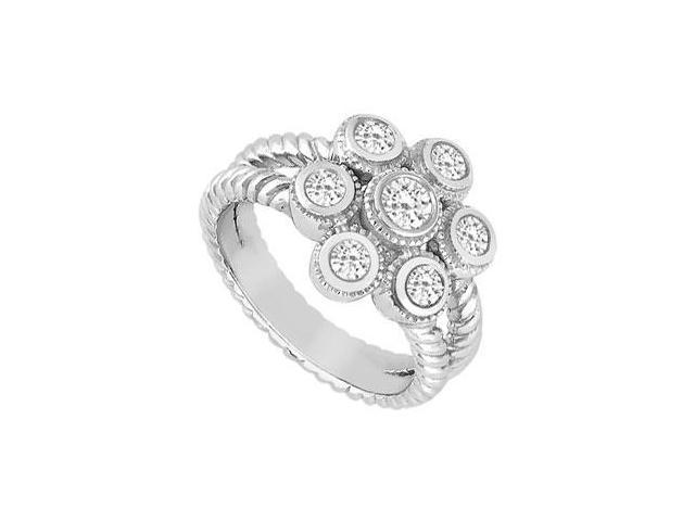 Diamond Ring  14K White Gold - 0.25 CT Diamonds