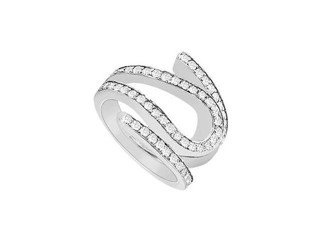 Diamond Ring  14K White Gold - 1.25 CT Diamonds