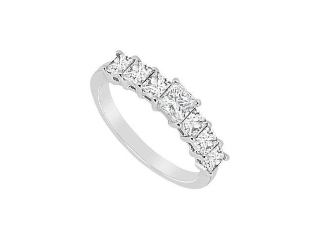 Diamond Wedding Band  14K White Gold - 2.50 CT Diamonds