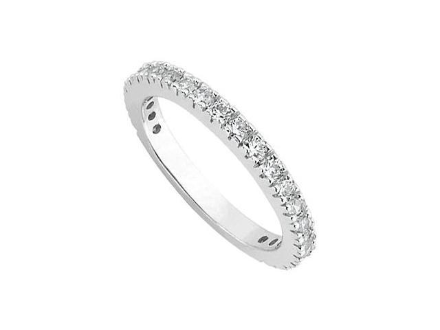 Diamond Wedding Ring in 14kt White Gold 0.50.ct.tdw