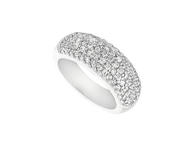 Diamond Wedding Ring in 14kt White Gold 1.25.ct.tw