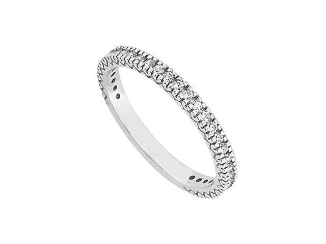 Diamond Wedding Band in 14kt White Gold 0.50.ct.tdw.