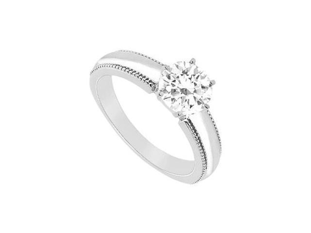 Diamond Ring  14K White Gold - 0.50 CT Diamond