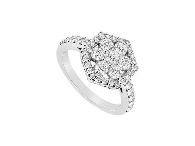 Diamond Ring 14K White Gold - 1.00 CT Diamonds