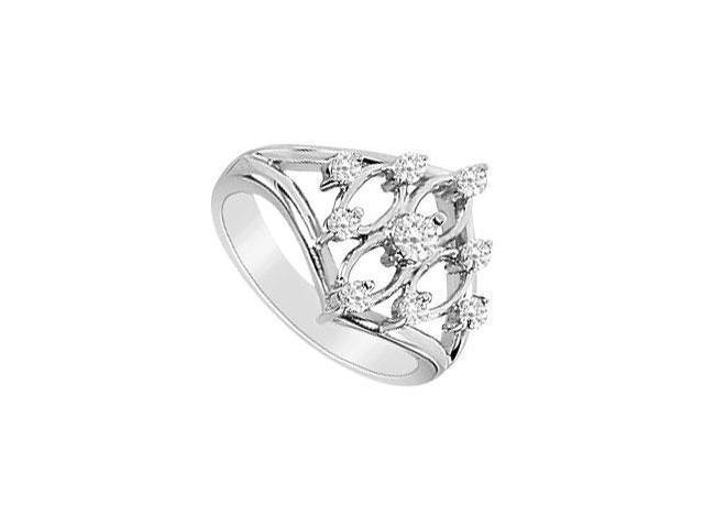 Diamond Ring  14K White Gold - 0.33 CT Diamonds
