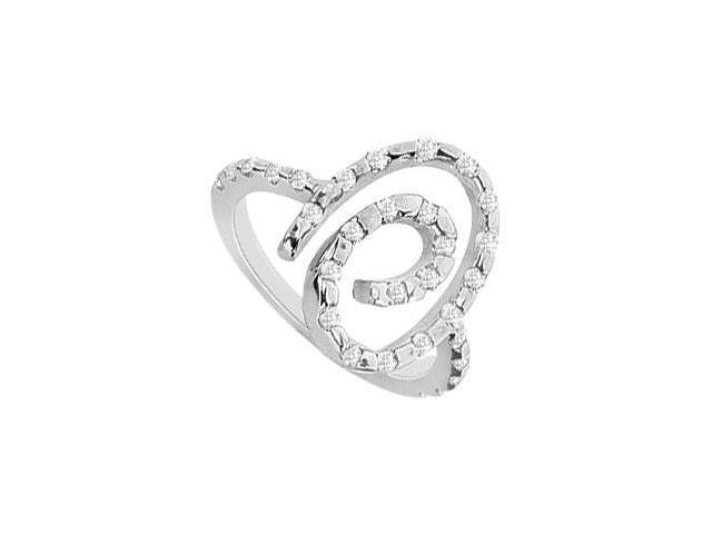 Diamond Ring  14K White Gold - 0.50 CT TGW