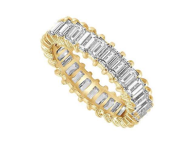 Diamond Eternity Band  14K Yellow Gold - 4.00 CT Diamonds