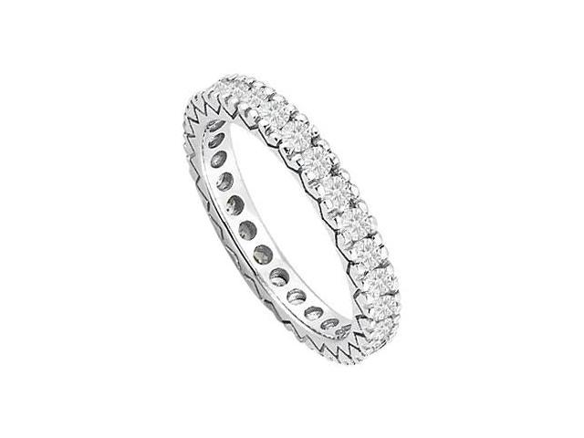 Diamond Eternity Wedding Band in 14kt White Gold 0.50.ct.tdw.