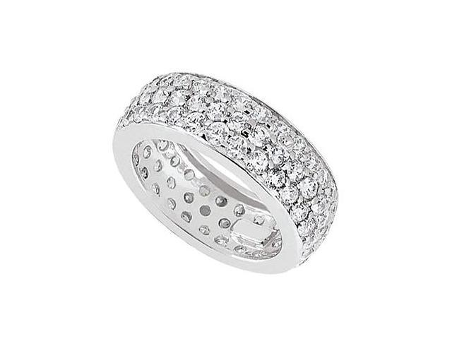 Diamond Eternity Band in 14kt White Gold 2.25.ct.tdw.
