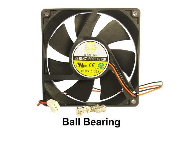 92mm 15mm Case Fan 12V DC 34.8CFM PC Computer Cooling Ball Brg 2Wire 317a*