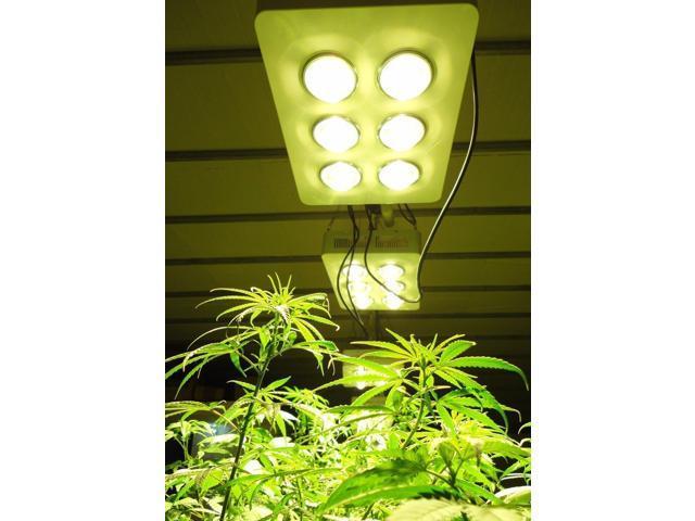 more condenser more light more energy efficient led plant grow lamp. Black Bedroom Furniture Sets. Home Design Ideas