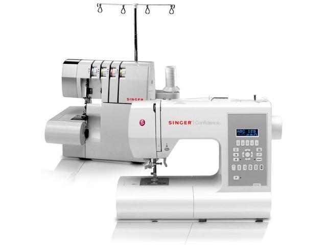 singer sewing machine serger combo