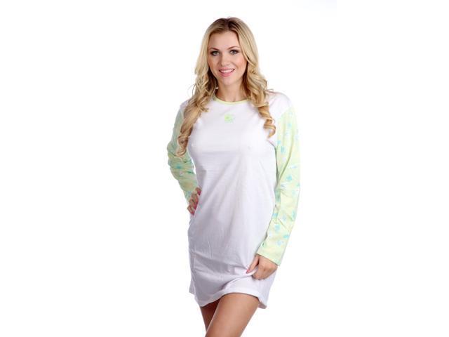 Hering Women's Cotton Longsleeve Nightie Style 7619