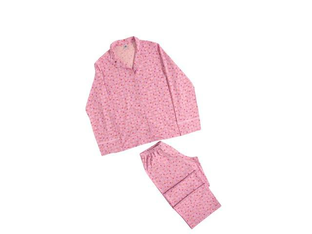 Hering Woman's Long Sleeve Pajama Set Style 7651