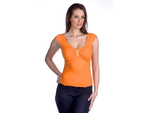 Hering Women's Cap Sleeve T-Shirt Style 02MG