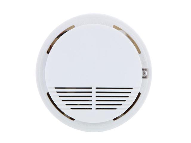 high sensitive wireless smoke sensor detector work alone 85db voice fire alarm. Black Bedroom Furniture Sets. Home Design Ideas