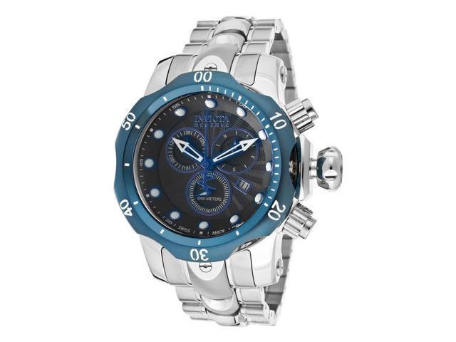 Invicta 10805 Men's Venom Reserve Chronograph Watch - Stainless Steel, Black Dial