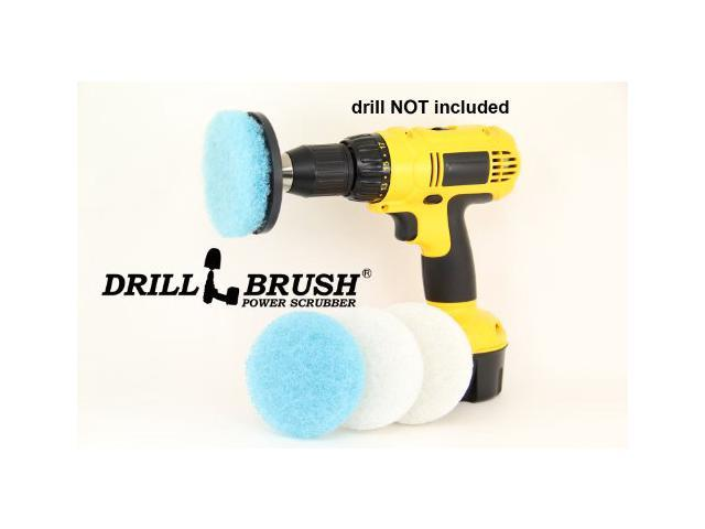 Electric Handheld Power Scrubber Attachment Tub and Tile Bathroom Cleaning  Kit. Electric Handheld Power Scrubber Attachment Tub and Tile Bathroom