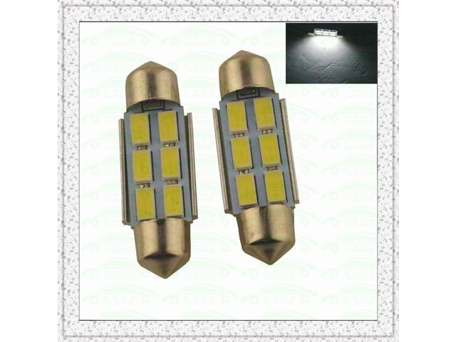 Carking™ Festoon 36mm-5630-6SMD Car LED Rome Lamp White Light (12V/2PCS)