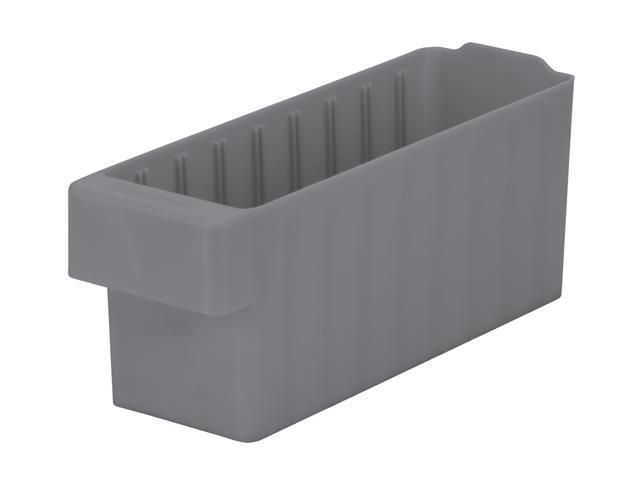 Akromils Akrodrawer Grey 6 Pack - 11.62x 3.75x 4.62