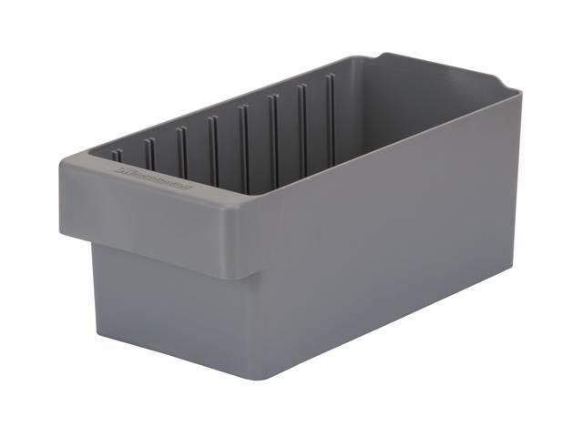 Akromils Akrodrawer Grey 6 Pack - 11.62x 5.56x 4.62